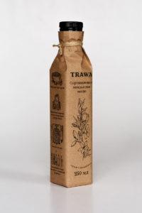 Масло Миндальное Сыродавленное TRAWA бутылка 0,25 ребром (2)
